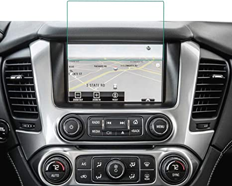 ONGHSD Navigation Screen Protector Film for Chevy Suburban Tahoe 2019 2018 2017 2016 2015 Chevrolet Suburban//Tahoe Accessories,for GMC Acadia 2019 2018 2017 2016 Touch Screen 8 Inch Tempered Glass
