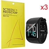 Polar M600 Screen Protector, Lamshaw Premium High Definition Ultra Clear Screen Protector for Polar M600 Sports Smart Watch (6 pack)