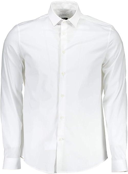 Versace VT02259 - Camisa de manga larga para hombre Blanc ...