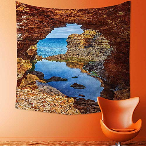 Best Australian Gold Iphone 6 Cases - Printsonne Decorative Wall Tapestry Cavern Rocks