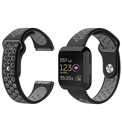 Amazon.com: FUNKID Band for Fitbit Versa Smartwatch ...