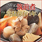 Japanese Side Dishes Chicken Stew with Taro, Carrot, Etc. (Chikuzenni) 200g X 3 Retort-pouch Packs(precooked Foods / Emergency Foods)