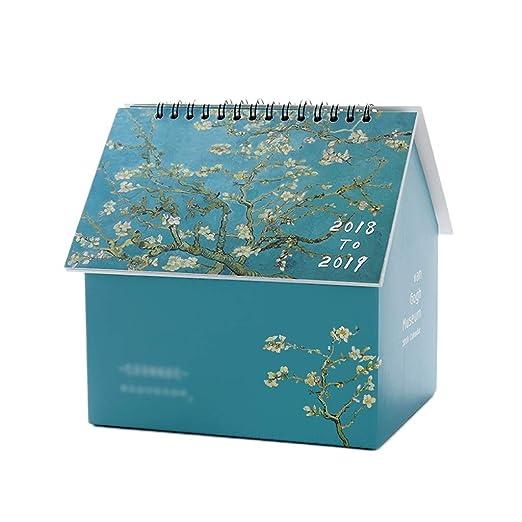 Calendario Calendarios de Escritorio Calendarios d 2020 Pintado ...