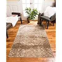 NaturalAreaRugs Ibiza Vintage Turkish Polypropylene Rug, Traditional, Stain Resistant, Durable, Earth/Eco-Friendly(7 Feet 10 Inches X 10 Feet 6 Inches)