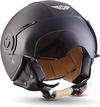 55-56cm S Soxon SR-400 Casque Moto Titan