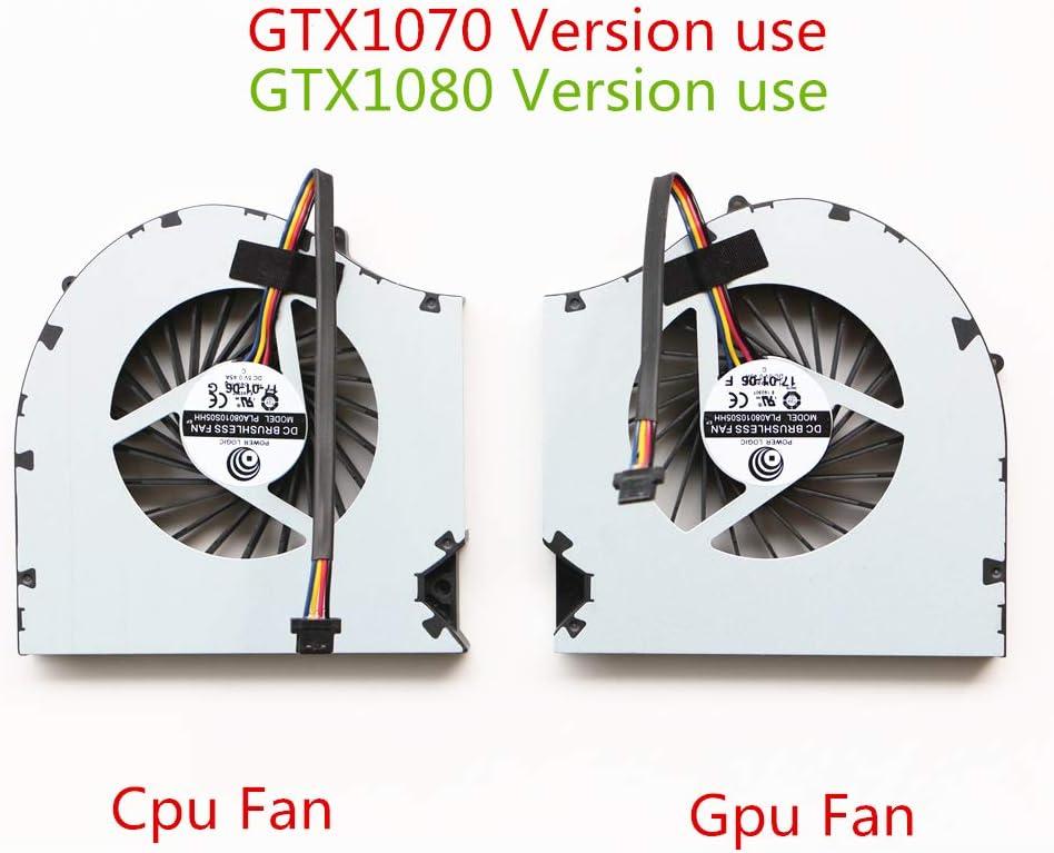 Laptop Replacement Cooler Fan for EVGA SC17 CPU Cooling Fan GTX1070 GTX1080 Version