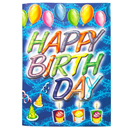 Music Birthday Card Interactive Sound Greeting Cards With Absolute Happy To You Song For Mom Wife Husband Dad Him Her Birthdays