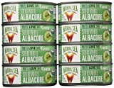 Natural Sea Solid White Albacore Tuna, Salted, 5-Ounce (Pack of 8)