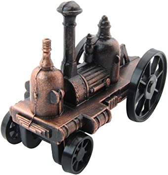 Steam Driven Fire Engine Die Cast Metal Collectible Pencil Sharpener