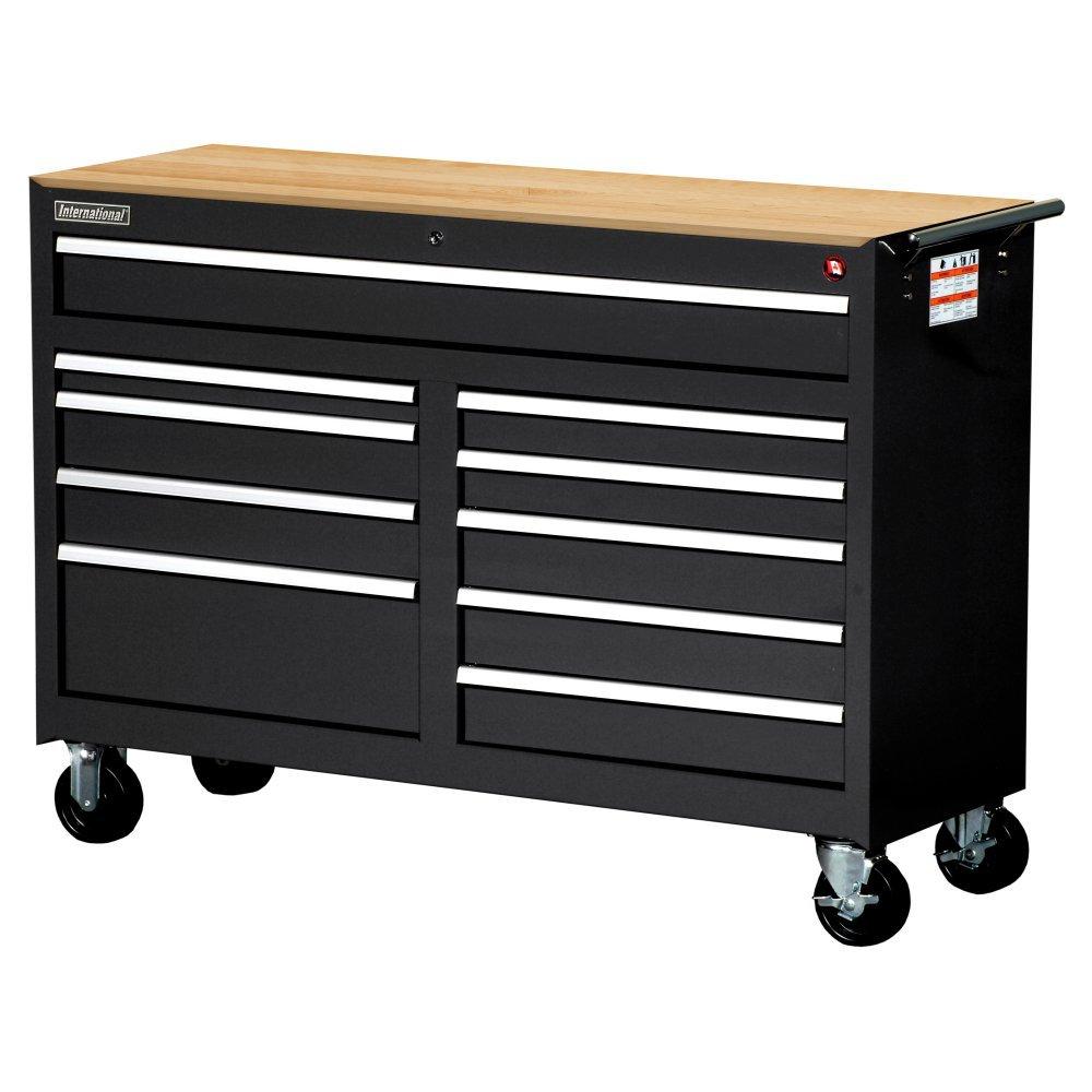 SPG-International Ltee Workshop Series 10 Drawer Mobile Cabinet