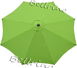 BELLRINO DECOR Replacement SAGE Green Strong & Thick Umbrella Canopy for 10ft 8 Ribs (Canopy Only)