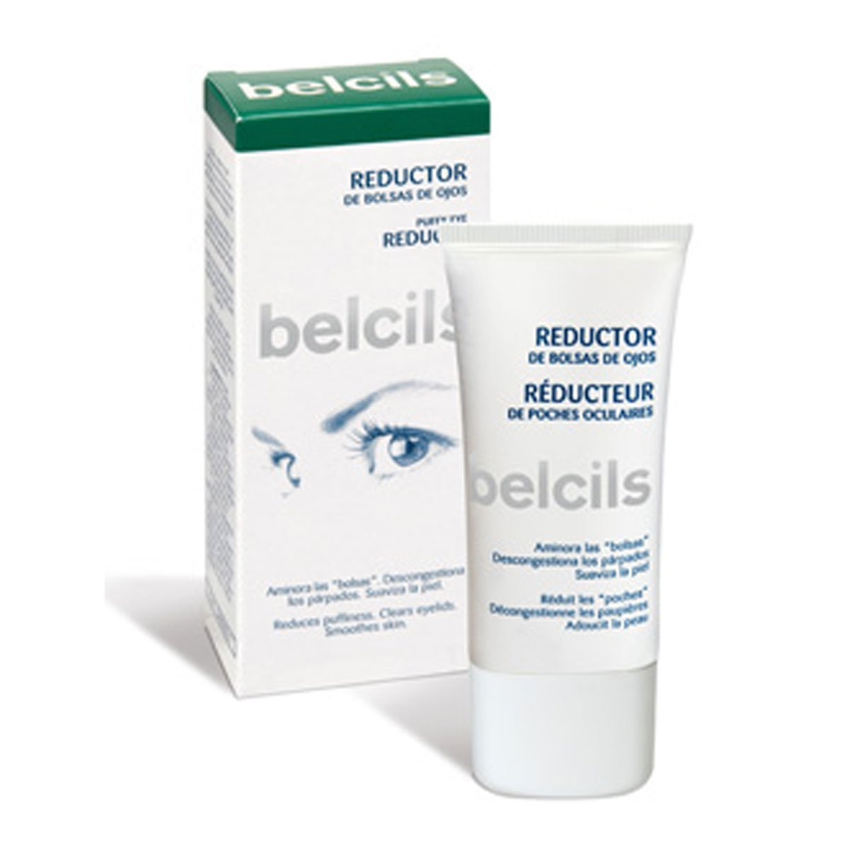 Amazon.com: belcils Reductor de bolsas y ojeras Crema 30 ml ...
