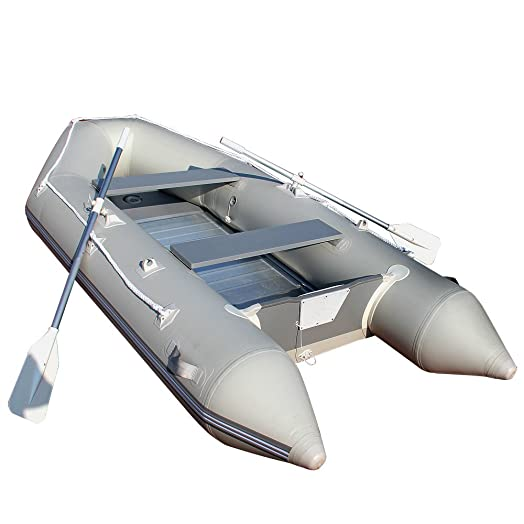 Jago Inflatable Dinghy Rubber River Boat Tender Aluminium Paddles U0026 Flooring    11kw/15PS