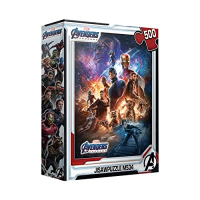 500Piece Jigsaw Puzzle Marvel Avengers Endgame: Toys & Games
