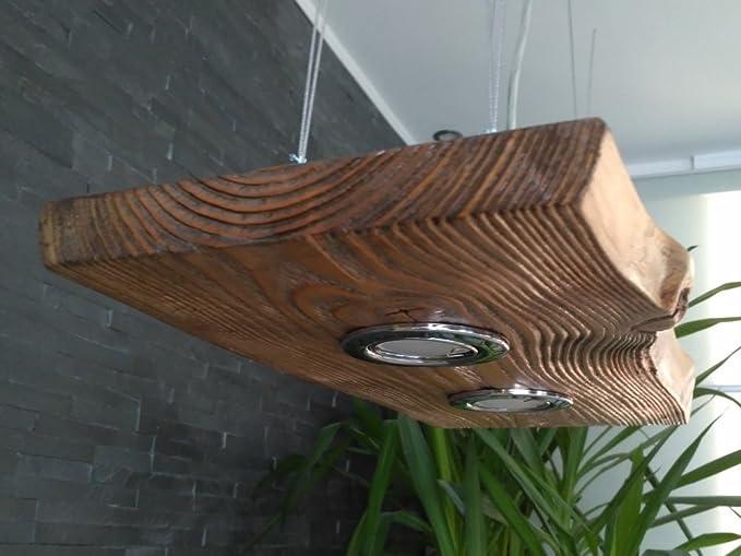 Plafoniere Con Bordo In Legno : Lampada a sospensione in legno massello cm bianco