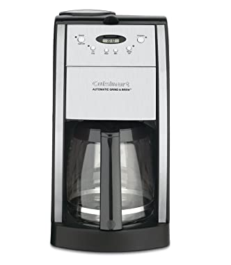 Cuisinart dgb 550bk grind and brew 12 cup automatic coffeemaker review