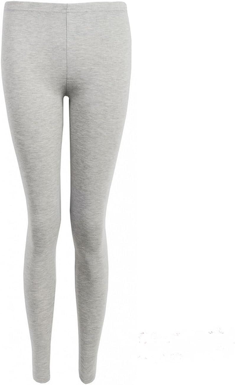Amazon Com Purple Hanger Women S Stretch Long Length Pants Leggings Light Grey Size 8 10 Clothing