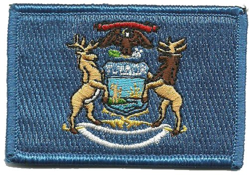 Tactical State Patch - Michigan (Full Color)