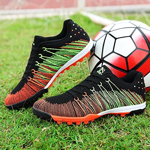 Xing Lin Chaussures De Football New GirlS Chaussures De Football Broken Nails Gazon Artificiel De LAntidérapage Porter Petite Cour Pour LÉlève La Formation Des Chaussures, 39 Standard Code 24.5Cm,