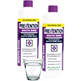 Prevention Mouth Sore Mouthwash - Value 2 Pack, for Canker Sore Treatment or Braces Inflammation