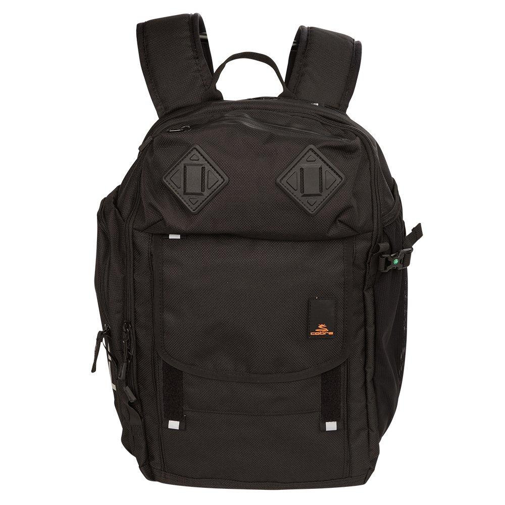 Cobra Golf 2017 Backpack (Black, 17.5'' x 7'' x 12.5'')