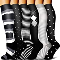 Copper Compression Socks Women & Men 15-20mmhg-Best for Running,Cycling,Sports,Travel,Hiking and Pregnancy