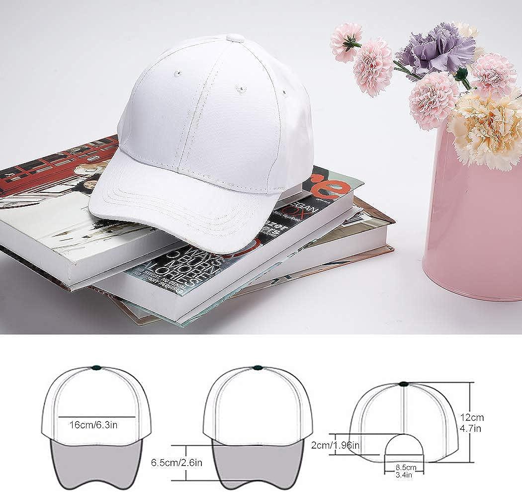 White DIY Painting Cotton Sun Hat Sports Cap for Kids Aged 3-12 yrs Old 5PCS B bangcool DIY Kids Baseball Caps Hats
