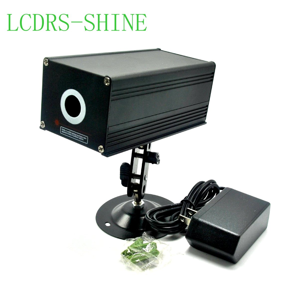 12V 80mw 532nm High Power Industrial Green Fat Beam Laser Dot Module w/Adapter