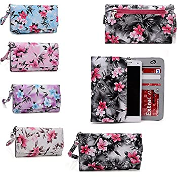 Moto X Style ,Motorola DROID Maxx 2,Motorola DROID Turbo 2,Motorola Moto X Force Floral phone case holder w/wallet features