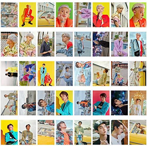 EXO SC 1st Mini Album What a Life LOMO Card 40pcs Polaroid Photocard in Iron Box