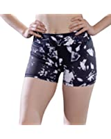 favobodinn Women's Sport Suits Tank Top - Skinny Short&Pant Capri Ice Printed Pattern Yoga Shorts For Women Tummy Control Workout Running Exercise Activewear