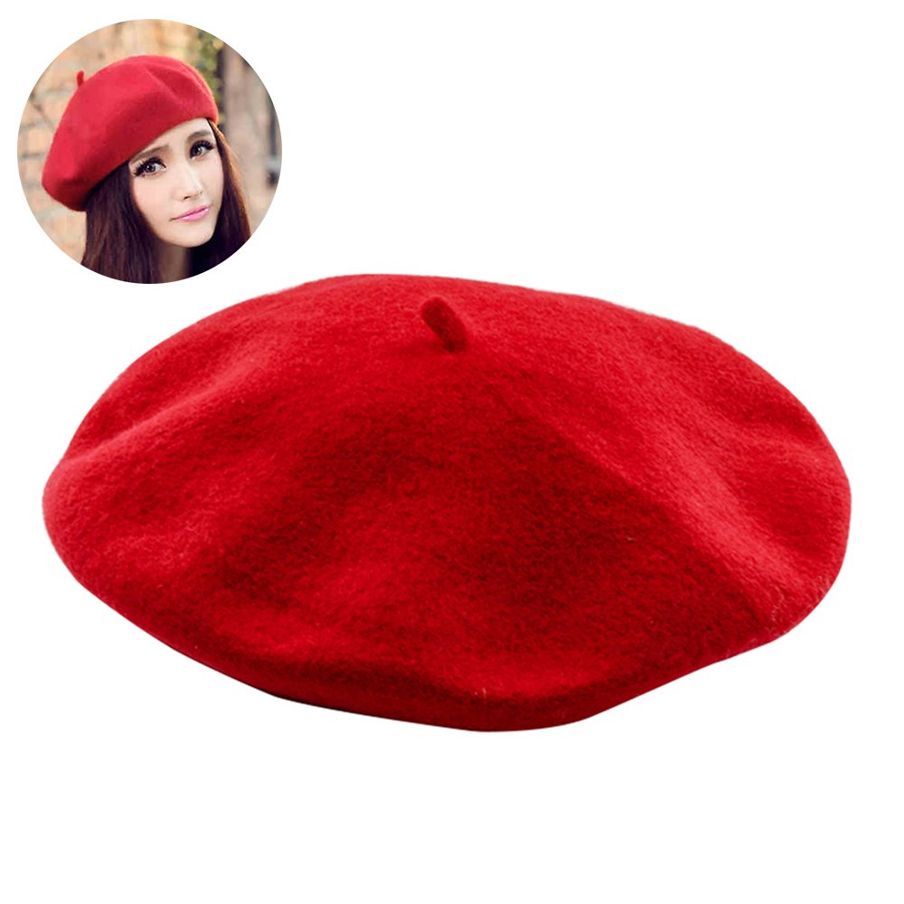 Fanatical Purchase French Beret Wool Beret Hat for Women and Men
