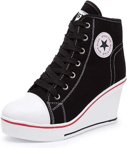Hurriman Women's Wedge Sneakers High