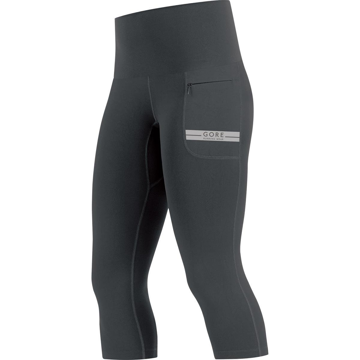 Gore Wear, Mujer, Mallas 3/4 Transpirables para Correr, Gore R5 Women 3/4 Tights, 100007