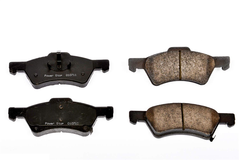 Power Stop 16-857 Front Z16 Evolution Clean Ride Ceramic Brake Pad Set