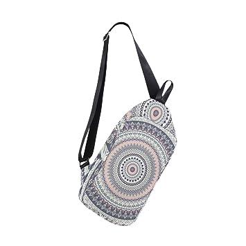 Amazon.com: Mandala - Mochila bandolera con patrón de ...