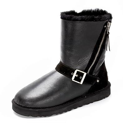 143bad71924 Ausland 10388 Sheepskin boots bottes de basane de l¡¯Australie de neige de  femme