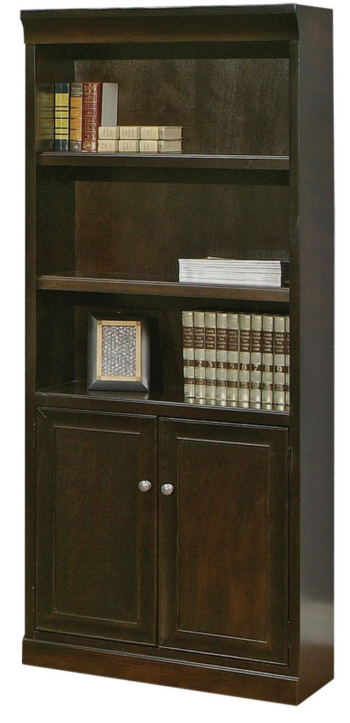 kathy ireland Home by Martin Fulton Library Bookcase - Fully Assembled