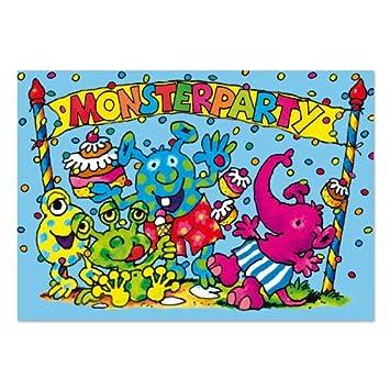 Lutz Mauder Lutz Mauder25821 Monster Party Einladung Karten Set