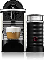 Nespresso Combo Pixie Clips, Máquina de Café com Aeroccino, 220V, Multicolorido