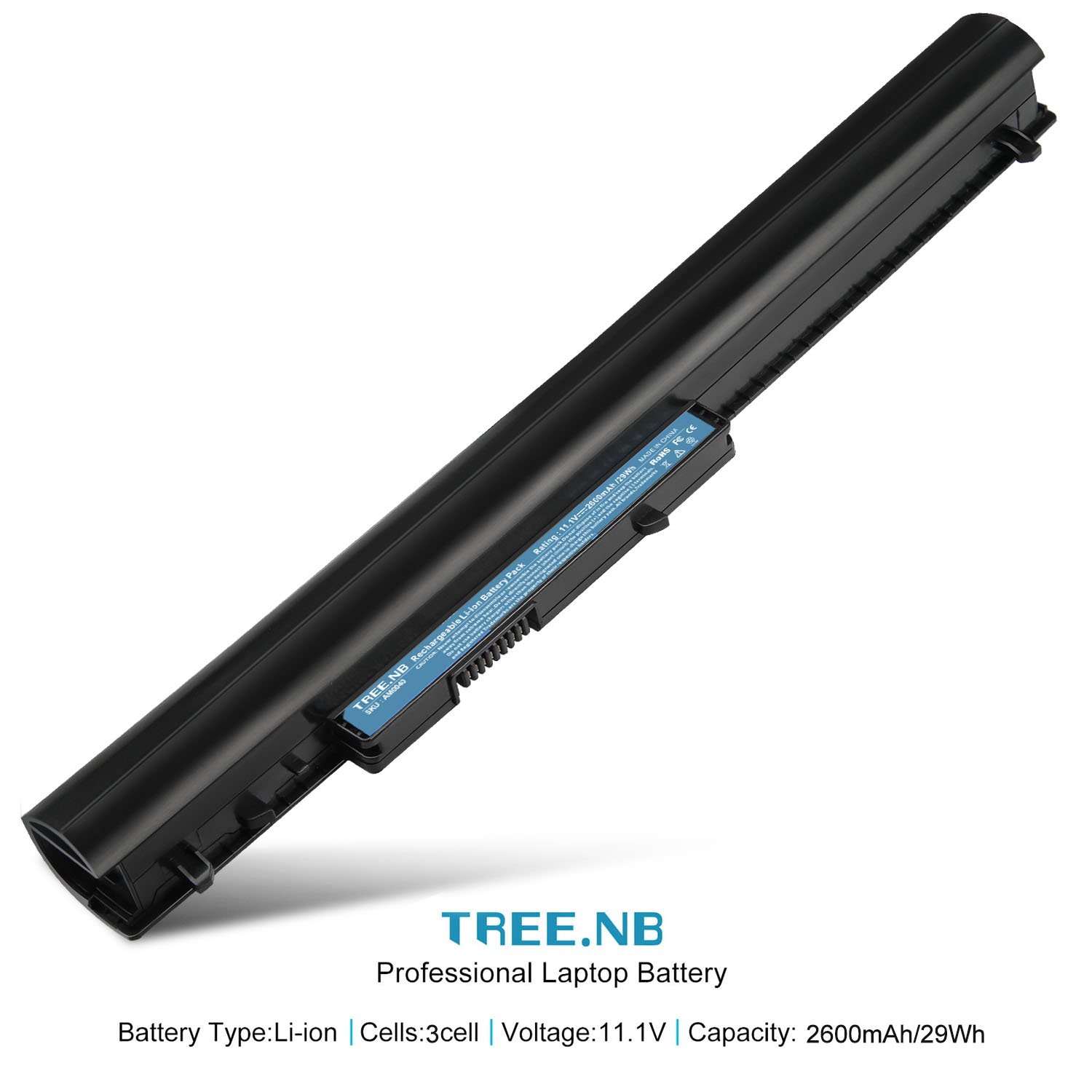 Amazon.com: Battery Replace with HP Spare 776622-001 (LA03): Computers & Accessories