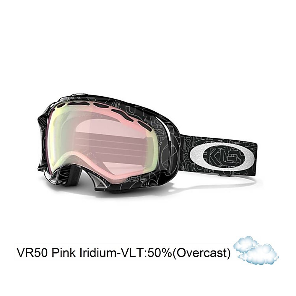 Oakley sunglasses asian fit - Amazon Com Oakley Asian Fit Splice Snow Goggles Black With Silver Text Frame Vr50 Pink Iridium Lens Ski Goggles Sports Outdoors