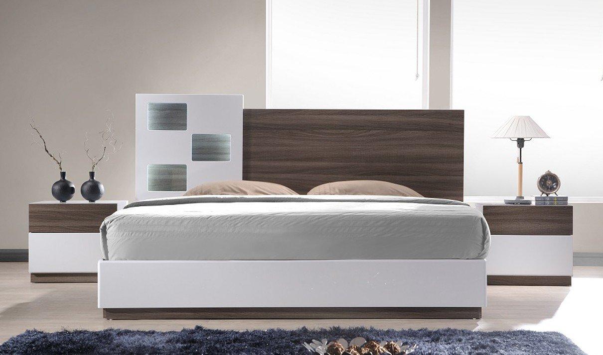 Amazon.com: J&M Furniture Sanremo A Modern King Bedroom Set in ...