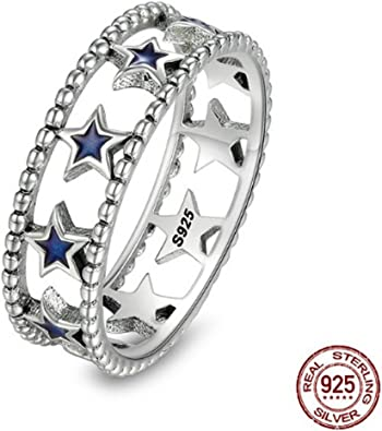 T/&T ring Sterling Stackable Twisted Heart Ring Jewelry for Women Wedding Engagement Rings