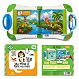 LeapFrog LeapStart for Preschool & Pre-Kindergarten: Kids On-The-Go Learning System and The World of Baby Animals Activity Book Bundle, Interactive Educational Toys, Learning Books, Kids Discovery