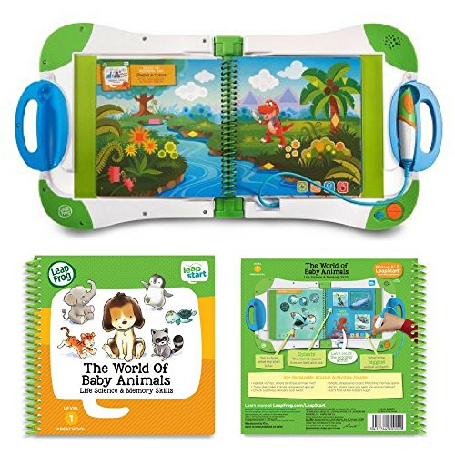 LeapFrog LeapStart for Preschool & Pre-Kindergarten: Kids On-The-Go Learning System and The World of Baby Animals Activity Book Bundle, Interactive Educational Toys, Learning Books, Kids Discovery by LeapFrog (Image #7)