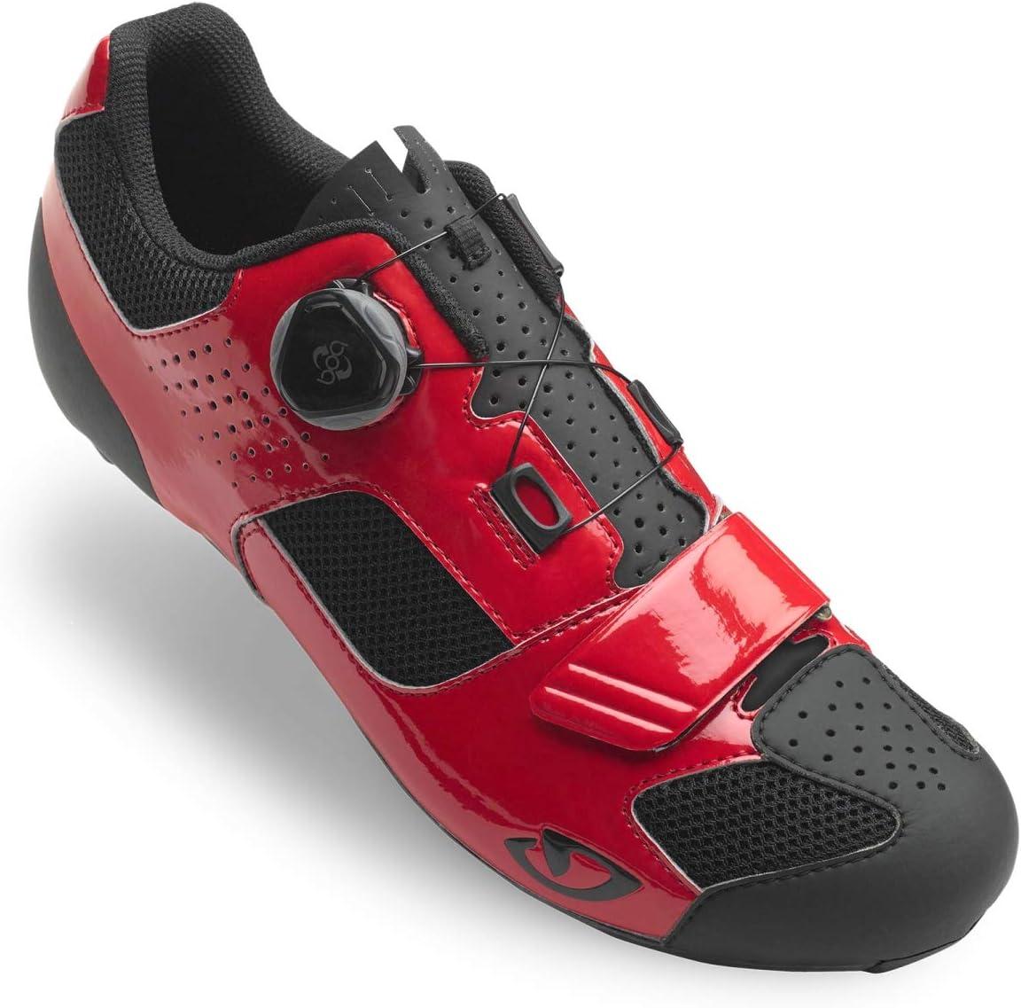 Giro Trans Boa Cycling Shoe - Men's Bright Red/Black, 44.5