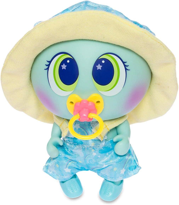 Blue Distroller Ksimerito Nerlie Neonate Baby Doll Yellow Overol w// Shoes and Hat Ksimerito Nerlie Nenate Baby