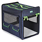 Crusing Companion Polka Dot Collapsible Crate Small Blue