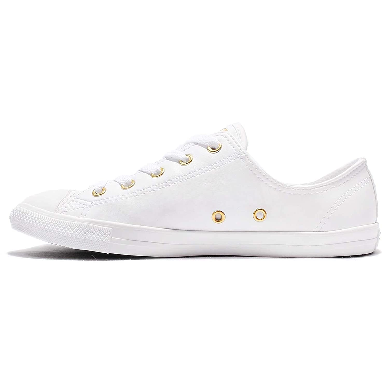 Converse All Star Dainty Ox Damen Sneaker Weiß: